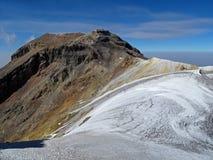 Iztaccihuatl mountain in Puebla stock image