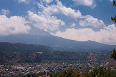 Iztaccihuatl volcano Royalty Free Stock Photo