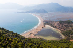 Iztuzu Beach Royalty Free Stock Photography