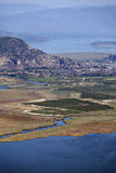 Iztuzu beach and delta of Dalyan river Royalty Free Stock Photo