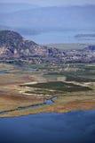Iztuzu Strand und Dreieck von Dalyan Fluss Lizenzfreies Stockfoto