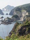 Picturesque Coast of Izu Peninsula royalty free stock image