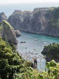 Picturesque Coast of Izu Peninsula royalty free stock photos