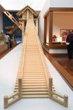Izumo-taisha honden модель Стоковое Изображение