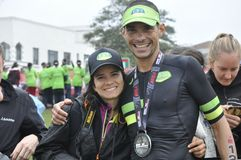 Izuzi ironman 70.3 world championship in Port Elizabeth in South africa Stock Photography