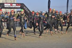 IZuzu -ironman 70.3 world championship in south Africa Stock Photography