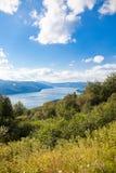 Izvorul Muntelui Lake stock photos