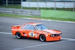 Jägermeister BMW Krajoznawczy samochód w akci Zdjęcie Royalty Free