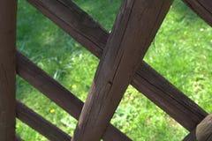 Jägerzaun-Detail Lizenzfreie Stockbilder