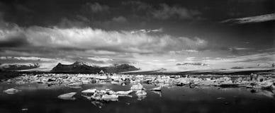 Jökulsà ¡ rlà ³ n在冰岛 库存图片