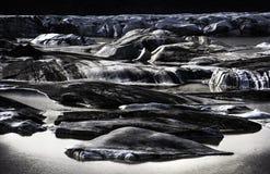 Jökulsà ¡ rlà ³ n; glacjalny jezioro Fotografia Royalty Free