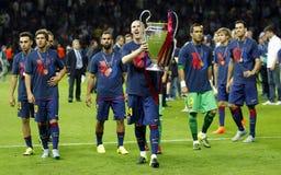 Jérémy Mathieu FC Barcelone Fotografering för Bildbyråer