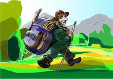 jägare stock illustrationer