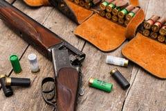Jägares ammunitionar Royaltyfri Bild