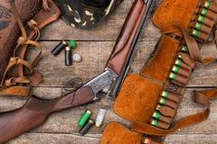 Jägares ammunitionar Royaltyfri Fotografi
