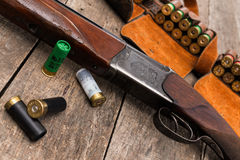 Jägares ammunitionar Royaltyfria Bilder