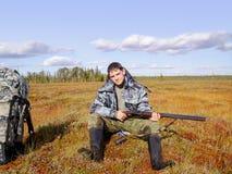 Jäger im Urlaub Lizenzfreie Stockbilder