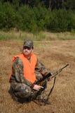 Jäger - Jagd - Sportler Stockfoto