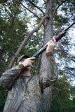 Jäger - Jagd - Sportler Stockfotos