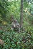 Jäger - Jagd - Sportler Lizenzfreie Stockfotos