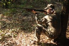 Jäger - Jagd - Sportler Lizenzfreies Stockbild