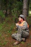 Jäger - Sportler Stockfoto