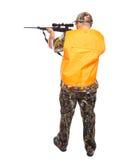 Jäger von der Rückseite Lizenzfreies Stockbild