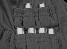 Jägerjacke mit Munitionskassetten Stockbilder