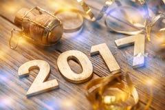 2017-jährige Zahl Lizenzfreie Stockfotos