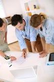 3-jähriger Unternehmensplan Lizenzfreies Stockfoto