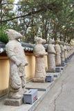 12-jähriger Zyklus des chinesischen Tierkreises Stockbilder