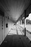 jähriges hölzernes Gebäude 100 Lizenzfreies Stockfoto