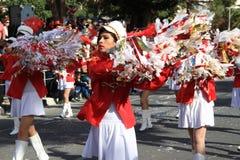 Jährliche Karnevals-Prozession. Lizenzfreie Stockfotografie