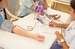 Jährliche medizinische Überprüfung Lizenzfreies Stockfoto