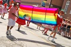 Jährliche Stolz-Parade, Toronto Lizenzfreie Stockfotos