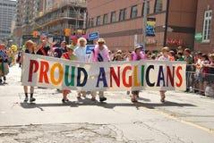 Jährliche Stolz-Parade, Toronto Lizenzfreies Stockbild