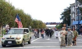 97. jährliche Veteran ` s Tagesparade 2017 Lizenzfreie Stockfotos