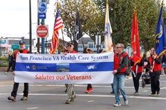 97. jährliche Veteran ` s Tagesparade 2017 San Francisco, CA Lizenzfreie Stockfotos