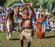 Jährliche Virginia Indian Festival Lizenzfreie Stockfotografie