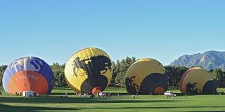 34. jährlicher Colorado-Ballon-Klassiker in Colorado Springs lizenzfreie stockfotografie