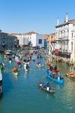 Jährlicher Karneval an der Stadt von Venedig, Italien Lizenzfreies Stockbild