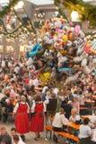 Jährliches Fall-Festival (Herbstfest) in Rosenheim, Deutschland Lizenzfreie Stockfotografie