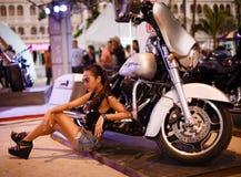 Jährliches Festival von Radfahrern auf Phuket in Thailand Lizenzfreie Stockfotografie