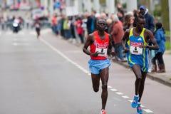 Jährliches Fortis Rotterdam Marathon 2010 Lizenzfreie Stockfotografie