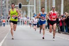 Jährliches Fortis Rotterdam Marathon 2010 Lizenzfreie Stockfotos