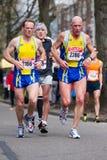 Jährliches Fortis Rotterdam Marathon 2010 Lizenzfreie Stockbilder