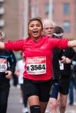 Jährliches Fortis Rotterdam Marathon 2010 Stockbilder