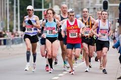 Jährliches Fortis Rotterdam Marathon 2010 Stockbild
