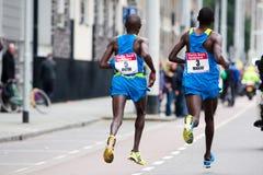 Jährliches Fortis Rotterdam Marathon 2010 Lizenzfreies Stockbild