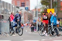 Jährliches Fortis Rotterdam Marathon 2010 Stockfoto